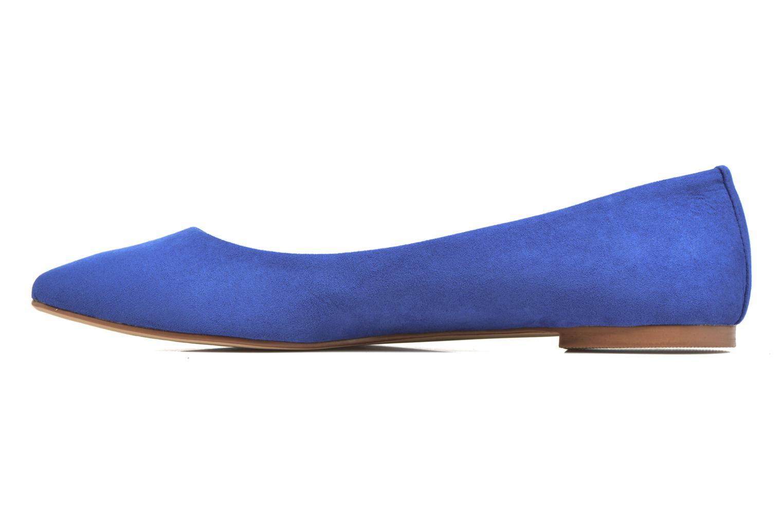 Bailarinas I Love Shoes BLOWN Azul vista de frente