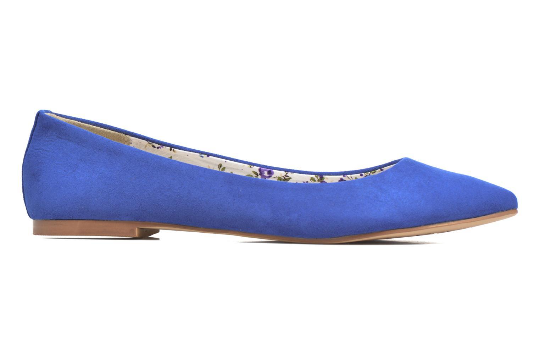 Bailarinas I Love Shoes BLOWN Azul vistra trasera
