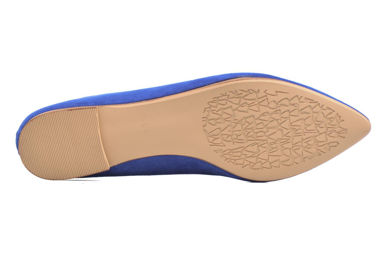 Ballerinaer I Love Shoes BLOWN Blå se fra venstre