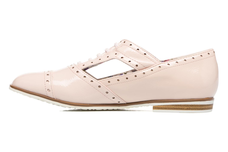 Zapatos con cordones I Love Shoes BLEST Beige vista de frente