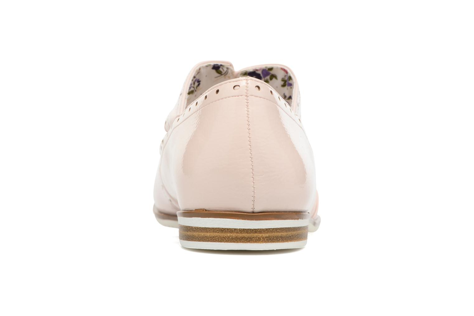 Zapatos con cordones I Love Shoes BLEST Beige vista lateral derecha