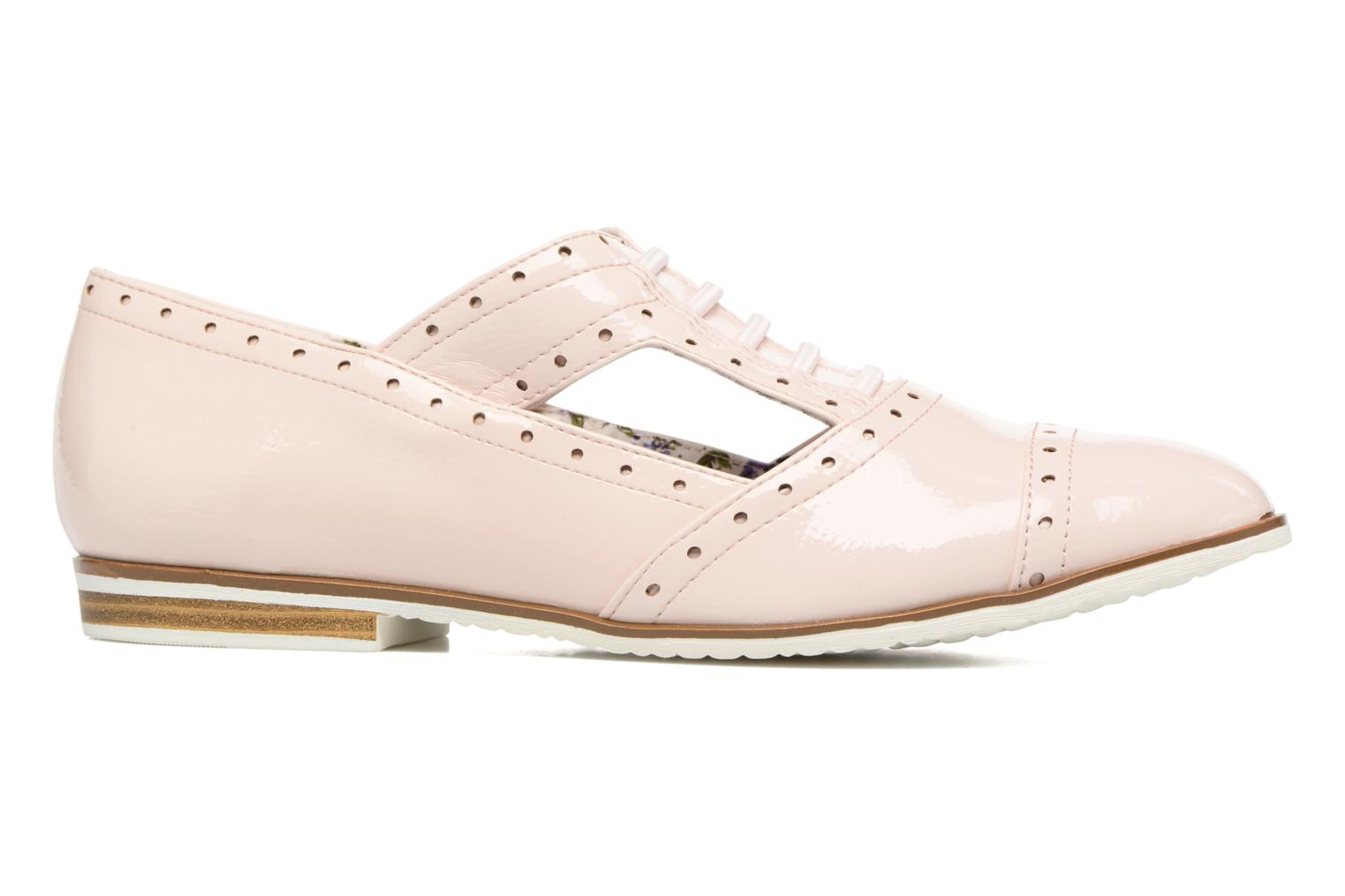 Zapatos con cordones I Love Shoes BLEST Beige vistra trasera