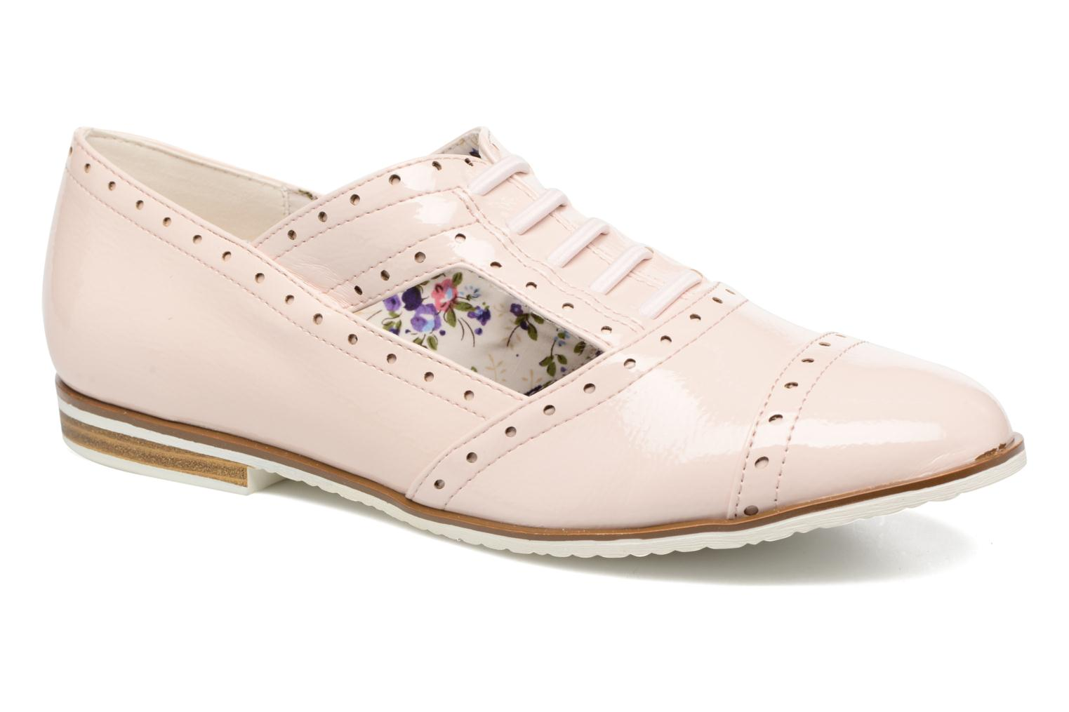 Lace-up shoes I Love Shoes BLEST Beige detailed view/ Pair view