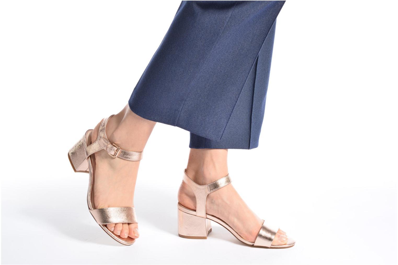 Sandalen I Love Shoes BLEUR schwarz ansicht von unten / tasche getragen