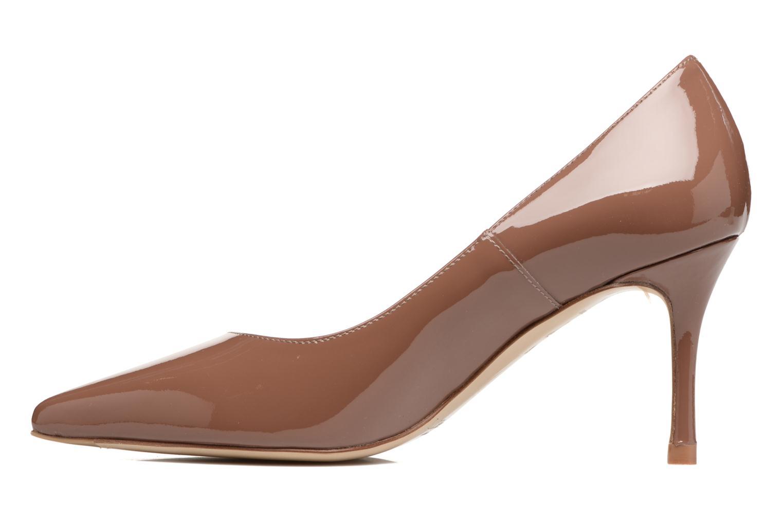 Zapatos de tacón L.K. Bennett Bianca Marrón vista lateral derecha