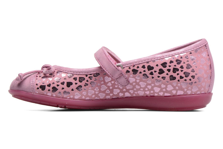 Ballerinas Agatha Ruiz de la Prada Glow rosa ansicht von vorne