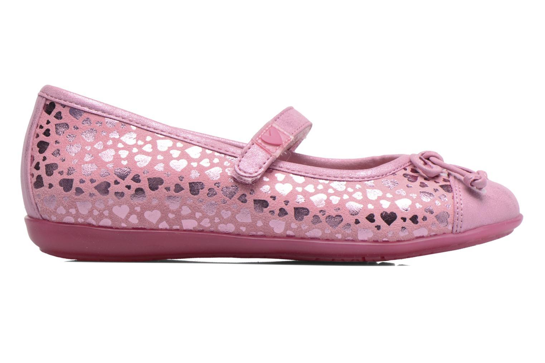 Ballerinas Agatha Ruiz de la Prada Glow rosa ansicht von hinten