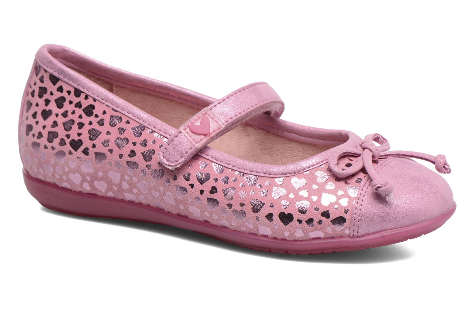 Ballet pumps Agatha Ruiz de la Prada Glow Pink detailed view/ Pair view