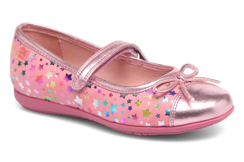 Ballerines Agatha Ruiz de la Prada Glow Rose vue détail/paire