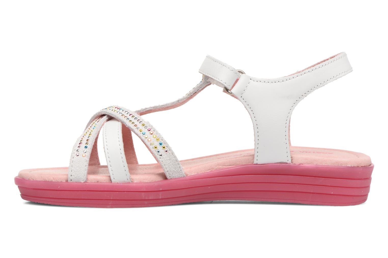 Sandali e scarpe aperte Agatha Ruiz de la Prada Diva 2 Bianco immagine frontale