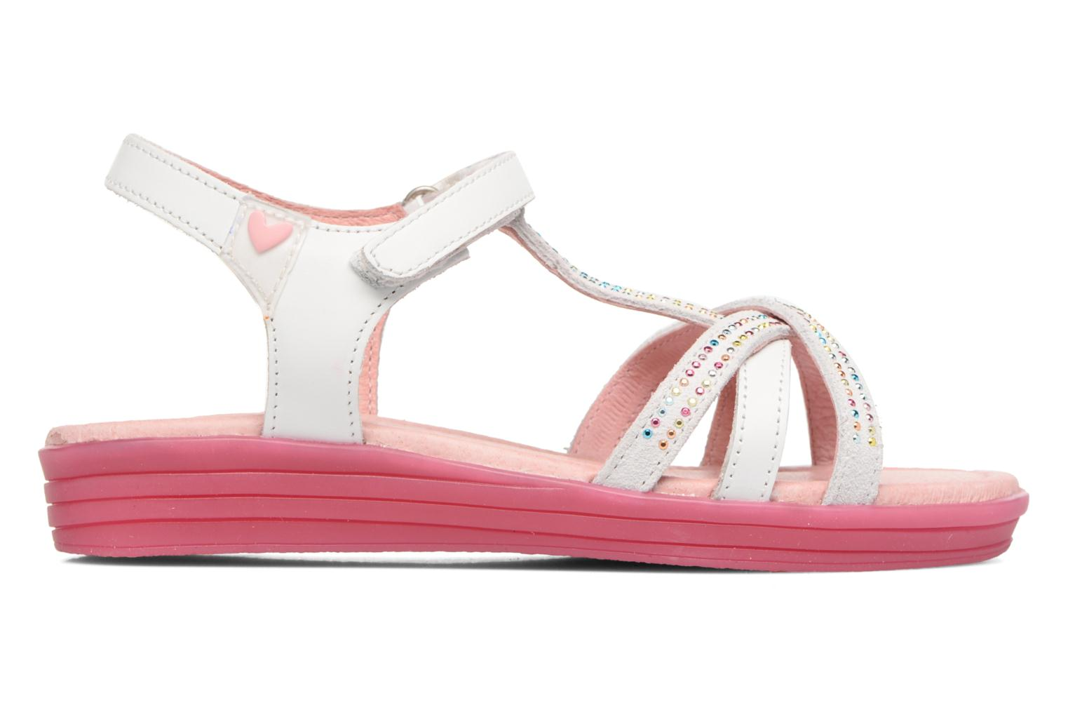 Sandals Agatha Ruiz de la Prada Diva 2 White back view