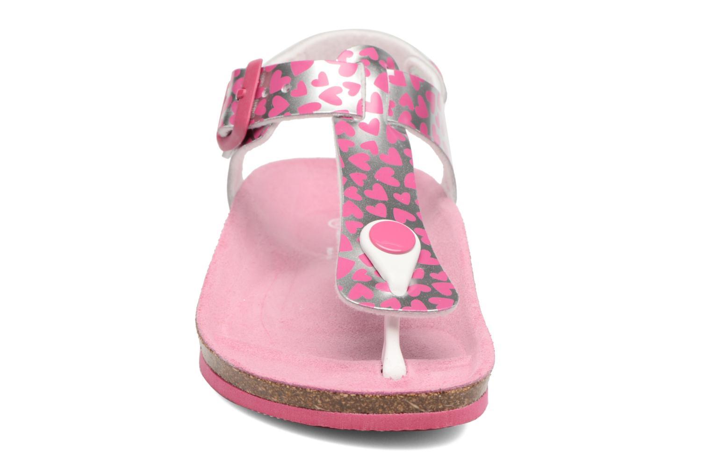 Sandales et nu-pieds Agatha Ruiz de la Prada Bio Agatha 3 Argent vue portées chaussures