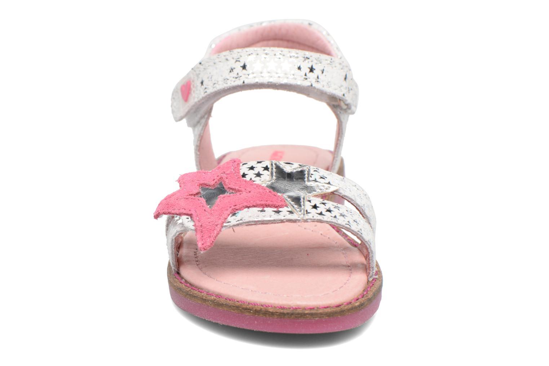 Sandali e scarpe aperte Agatha Ruiz de la Prada Miss Ponza 2 Bianco modello indossato