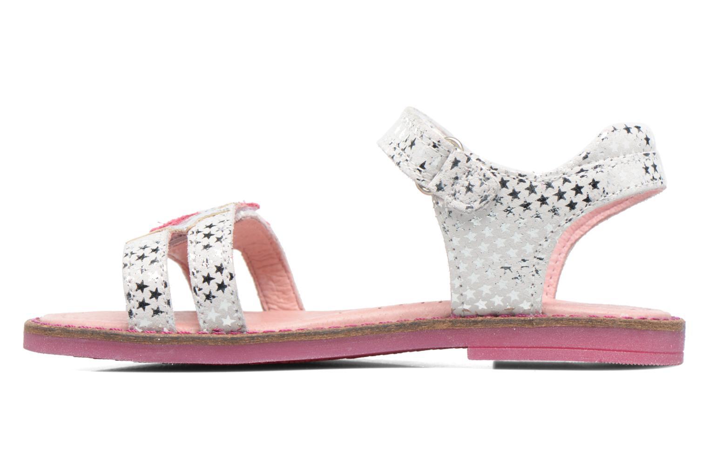 Sandali e scarpe aperte Agatha Ruiz de la Prada Miss Ponza 2 Bianco immagine frontale