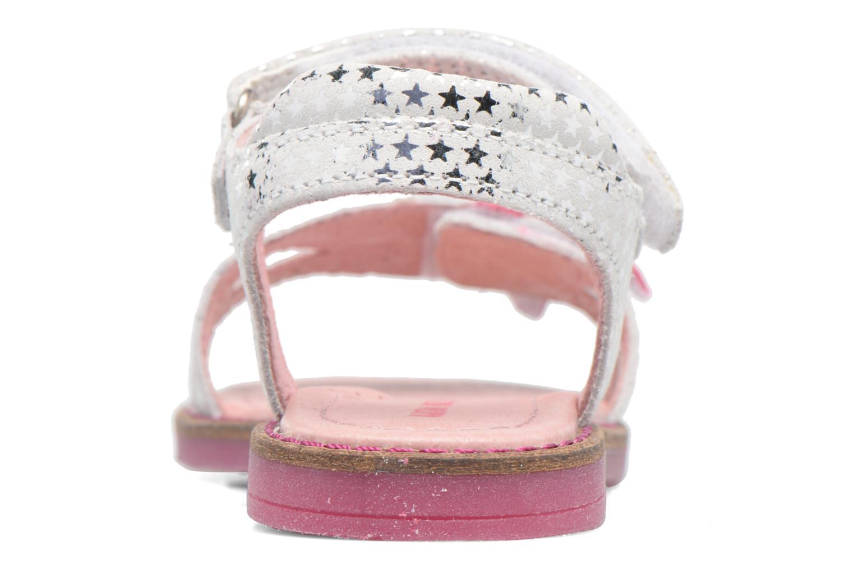 Sandali e scarpe aperte Agatha Ruiz de la Prada Miss Ponza 2 Bianco immagine destra