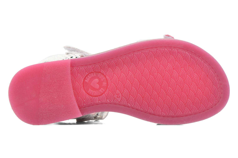 Sandali e scarpe aperte Agatha Ruiz de la Prada Miss Ponza 2 Bianco immagine dall'alto