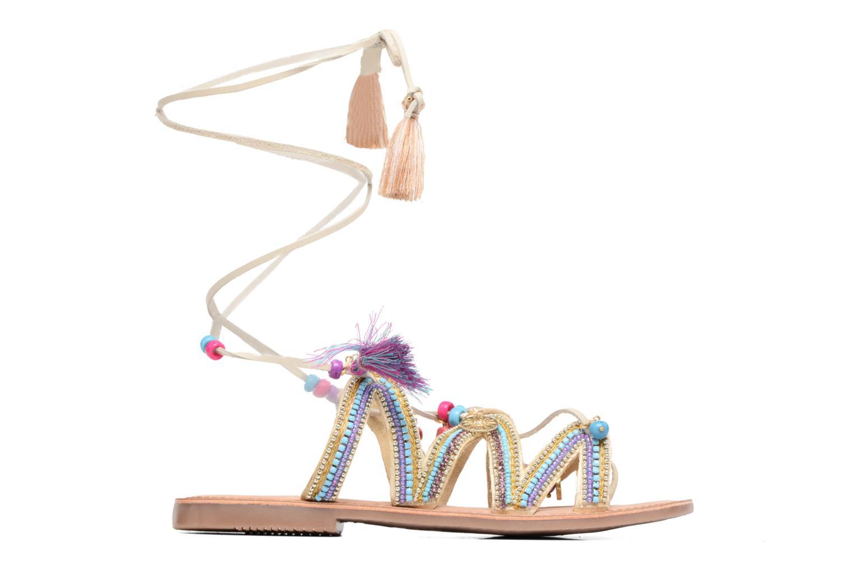 Sandales et nu-pieds Gioseppo Satanta Beige vue derrière