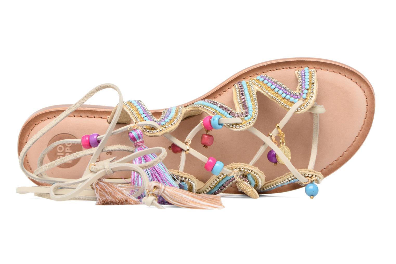 Sandales et nu-pieds Gioseppo Satanta Beige vue gauche