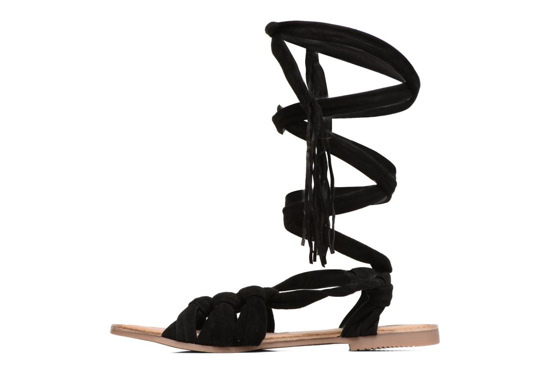Sandales et nu-pieds Gioseppo Aladina Noir vue face