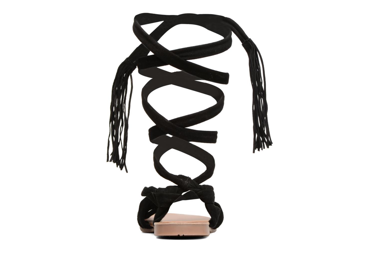 Sandales et nu-pieds Gioseppo Aladina Noir vue droite