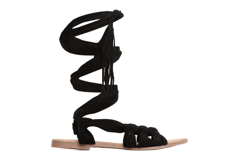 Sandales et nu-pieds Gioseppo Aladina Noir vue derrière