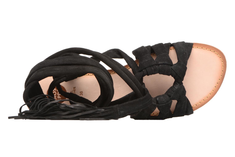 Sandales et nu-pieds Gioseppo Aladina Noir vue gauche