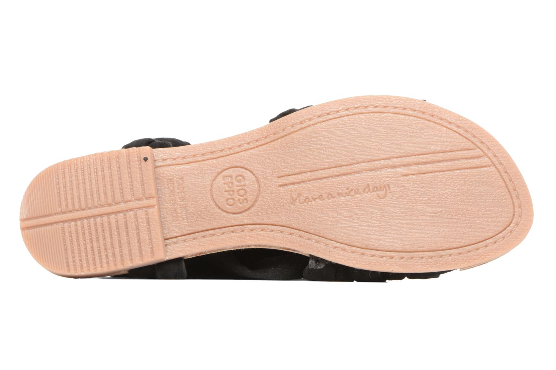 Sandales et nu-pieds Gioseppo Aladina Noir vue haut