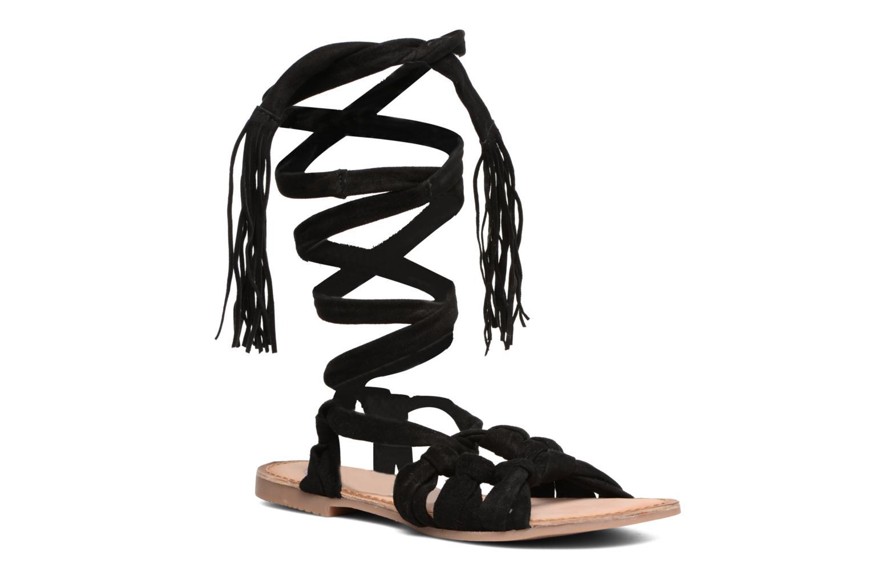 Sandales et nu-pieds Gioseppo Aladina Noir vue détail/paire