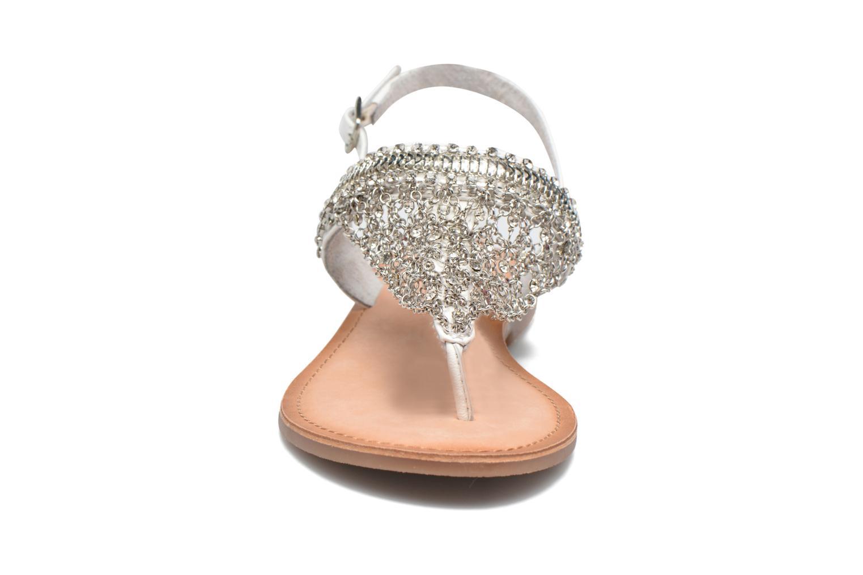 Sandales et nu-pieds Gioseppo Myrna Blanc vue portées chaussures