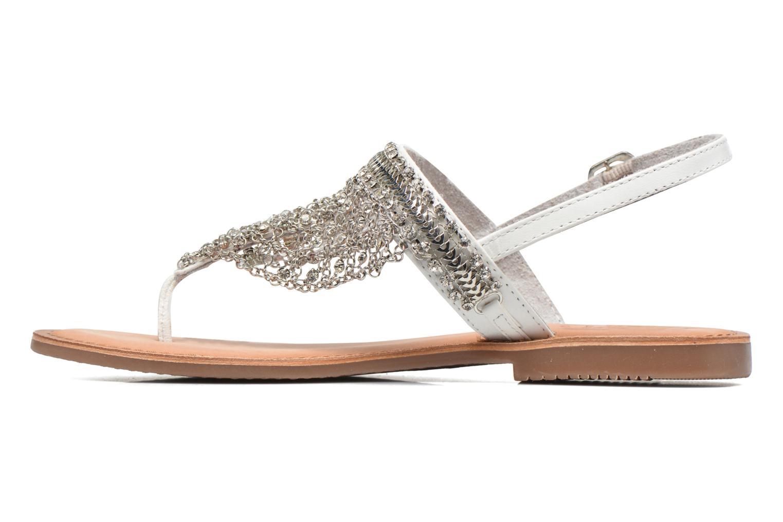 Sandales et nu-pieds Gioseppo Myrna Blanc vue face
