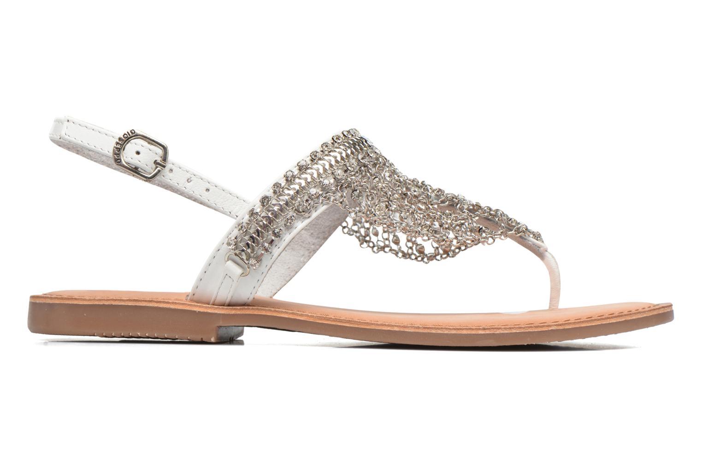 Sandales et nu-pieds Gioseppo Myrna Blanc vue derrière