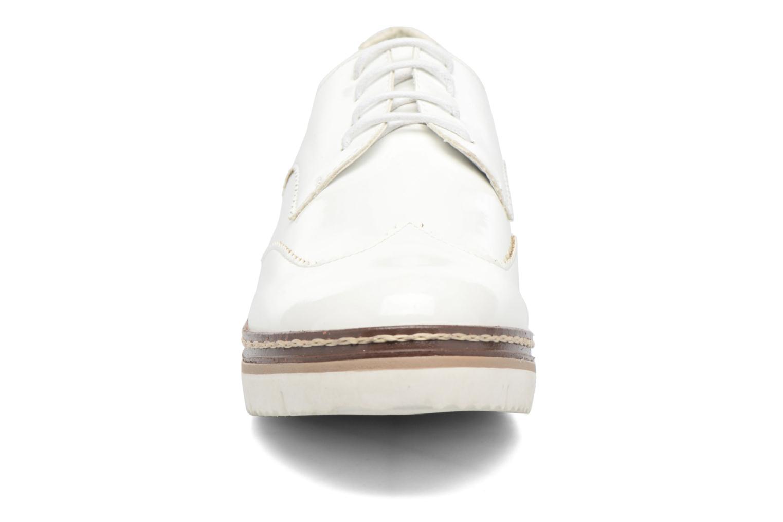 Zapatos con cordones I Love Shoes thalweg Blanco vista del modelo