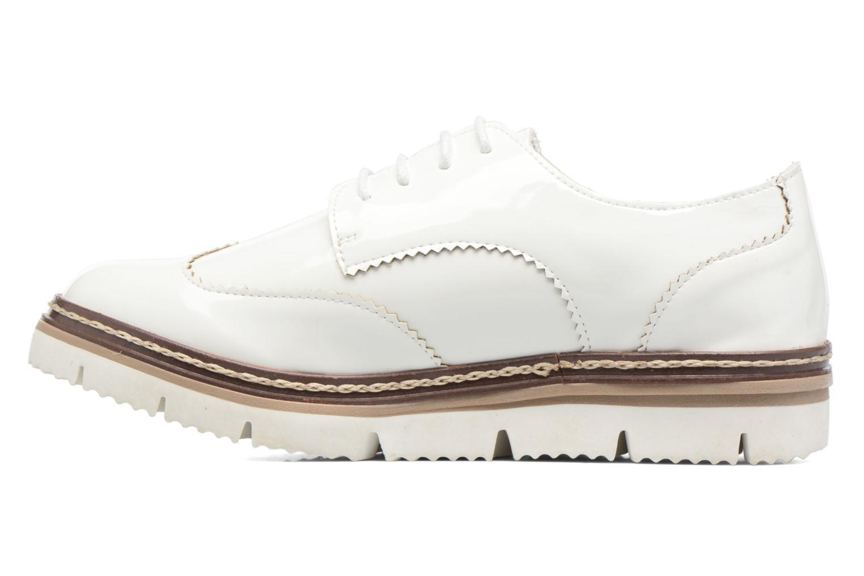 Schnürschuhe I Love Shoes thalweg weiß ansicht von vorne