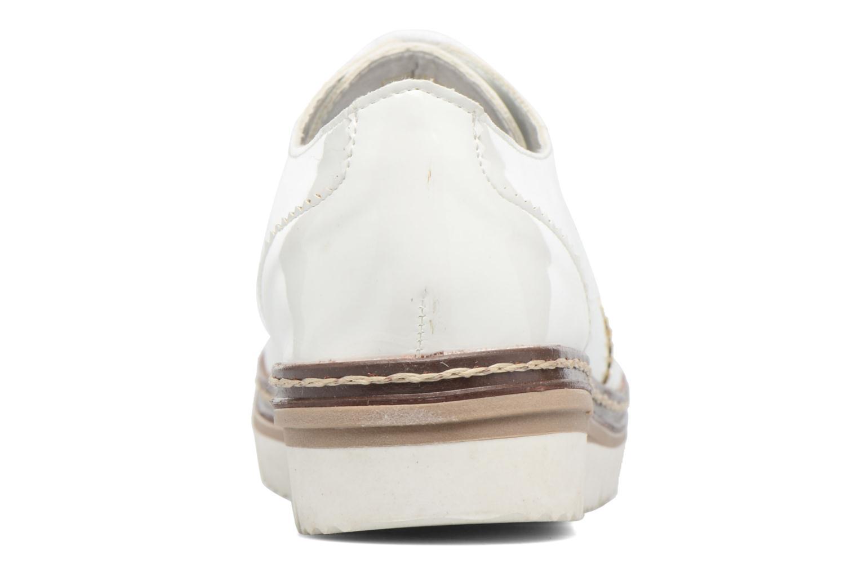 Schnürschuhe I Love Shoes thalweg weiß ansicht von rechts