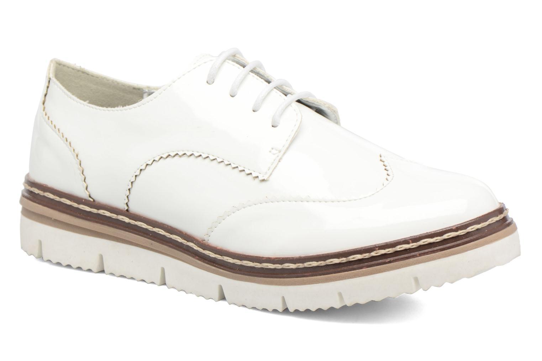 Zapatos con cordones I Love Shoes thalweg Blanco vista de detalle / par