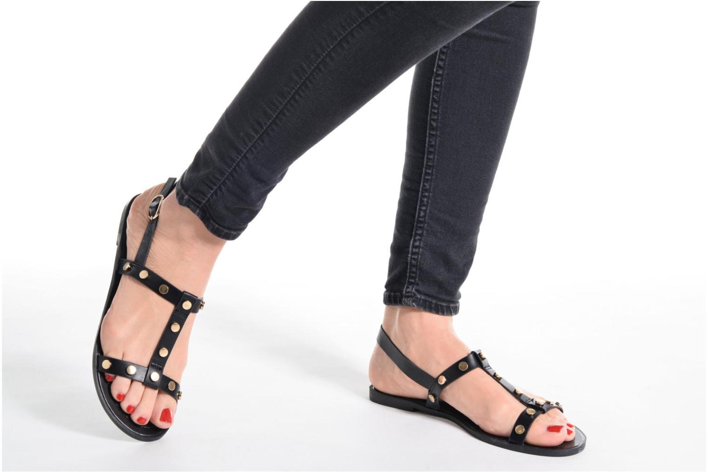 Sandales et nu-pieds I Love Shoes THEA Argent vue bas / vue portée sac