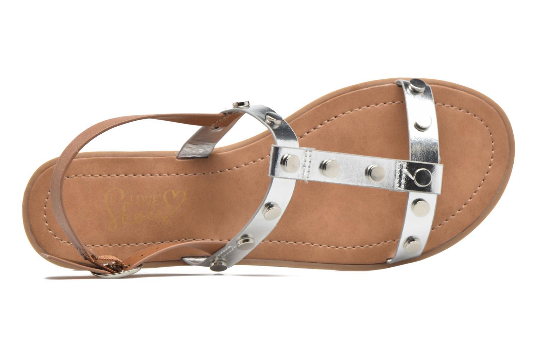 Sandales et nu-pieds I Love Shoes THEA Argent vue gauche