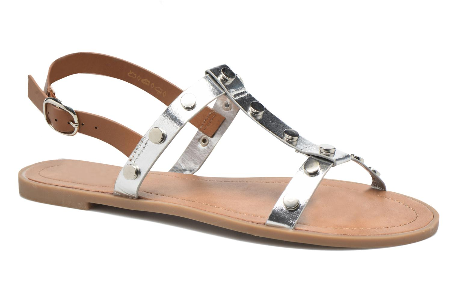 Sandals I Love Shoes THEA Silver detailed view/ Pair view