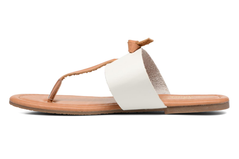 Sandales et nu-pieds I Love Shoes THIVUS Blanc vue face