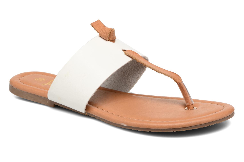 Sandales et nu-pieds I Love Shoes THIVUS Blanc vue détail/paire
