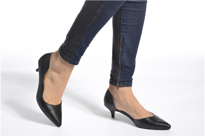 Escarpins I Love Shoes THETA Gris vue bas / vue portée sac