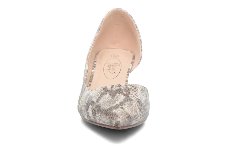 High heels I Love Shoes THETA Grey model view