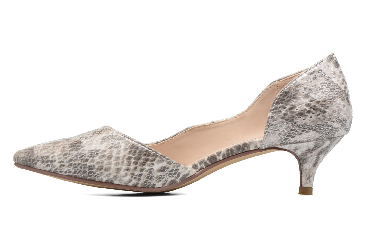 High heels I Love Shoes THETA Grey front view