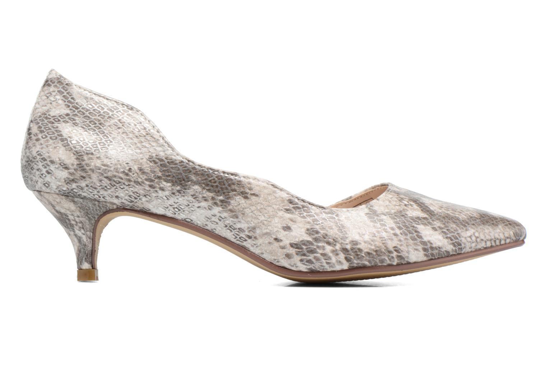 High heels I Love Shoes THETA Grey back view