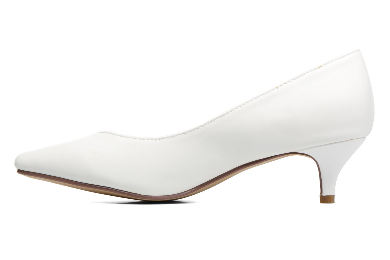 Escarpins I Love Shoes THORA Blanc vue face