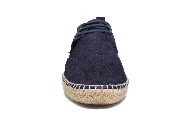 Espadrilles Gioseppo Coveta Bleu vue portées chaussures