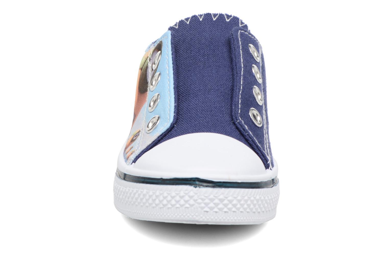 Baskets Minions Kampala Bleu vue portées chaussures