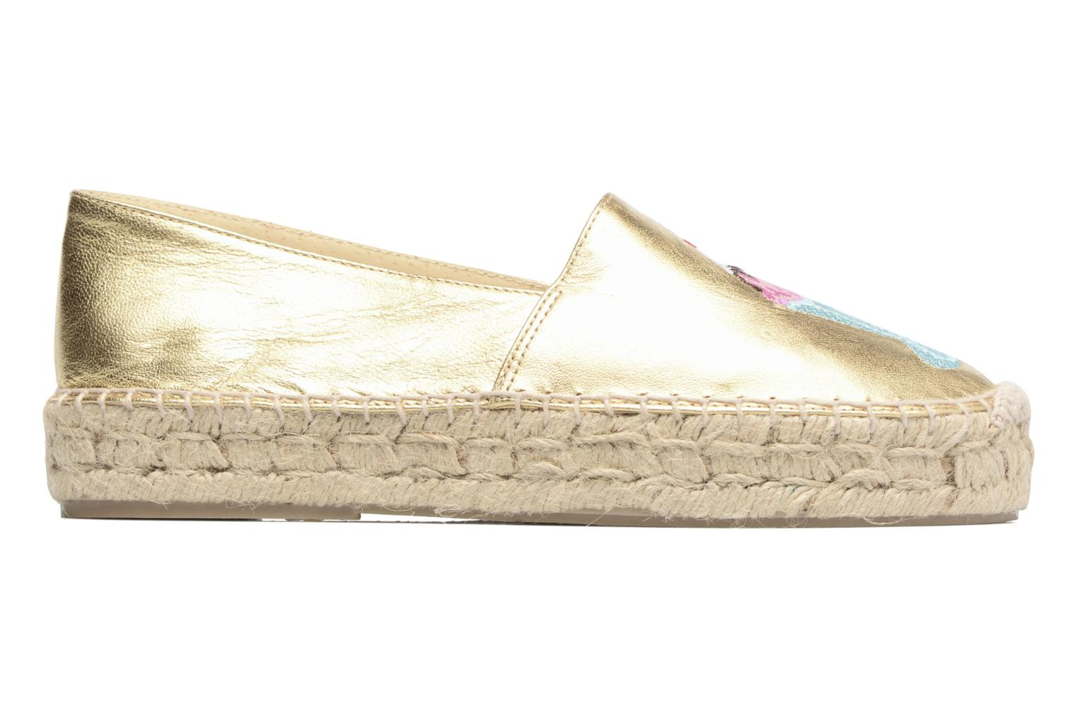 Espadrilles Apologie Yvette Bronze and Gold back view