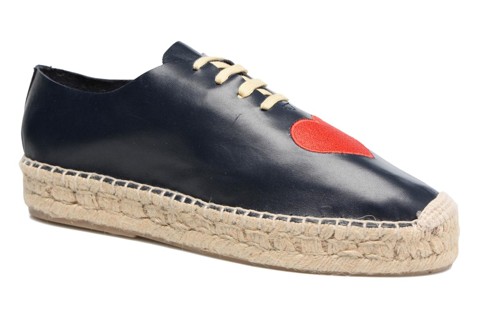 Espadrilles Apologie Adrienne Blue detailed view/ Pair view