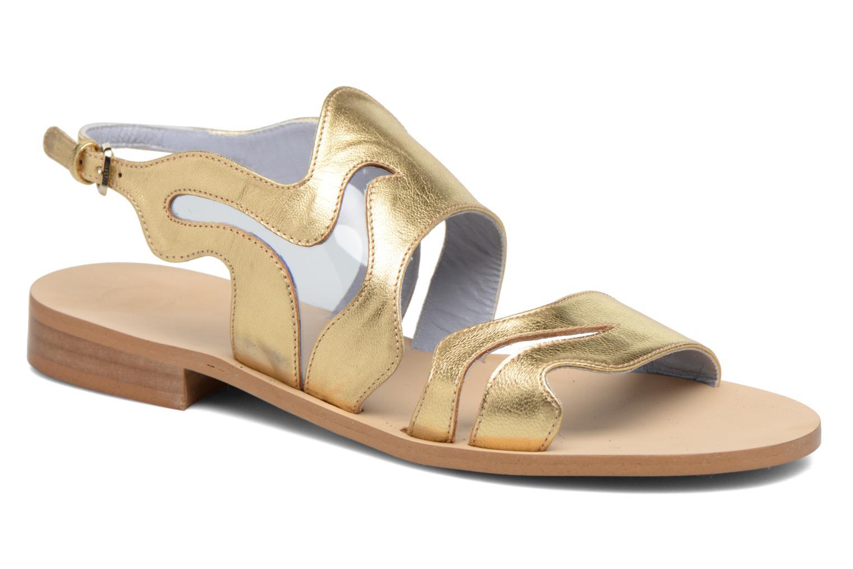 Elda - Sandales Pour Les Femmes / Or Et De Bronze Sergio Rossi MlZFO